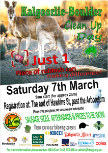 2020 A4 Flyer Clean Up Day
