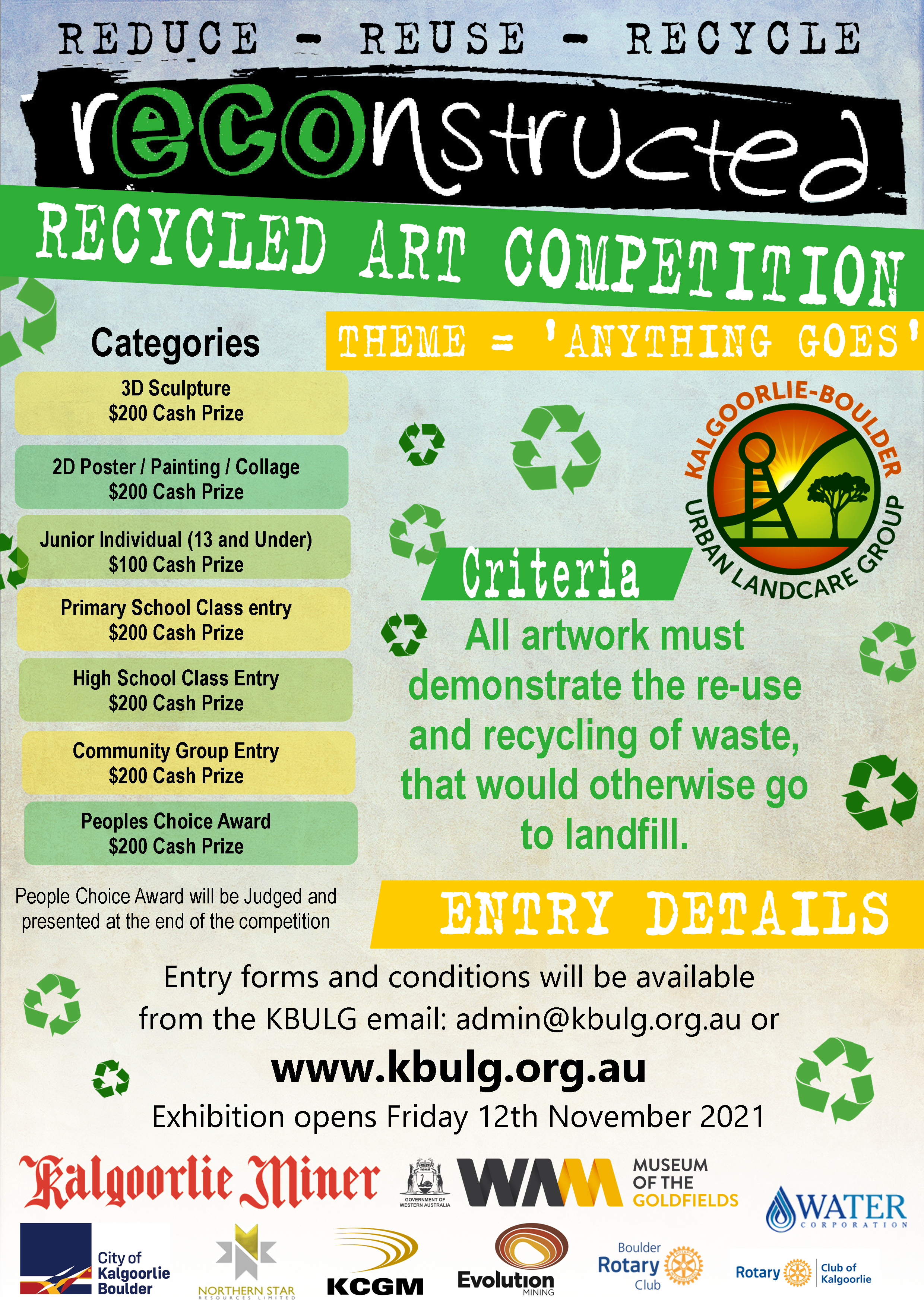 New Dates2021 rECOnstructed Art Comp Basic Information
